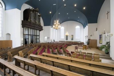 impressie kerkzaal Jozefkerk (2)