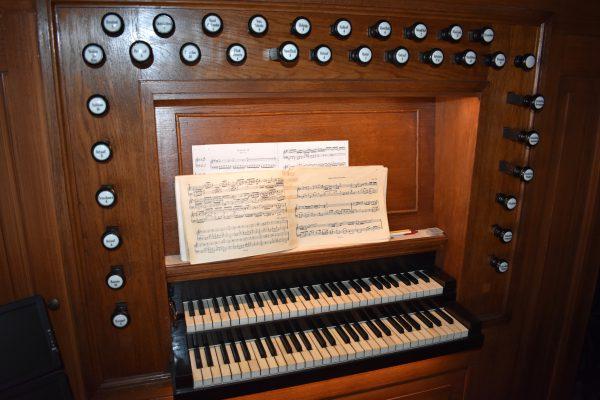 Speeltafel van Dam orgel