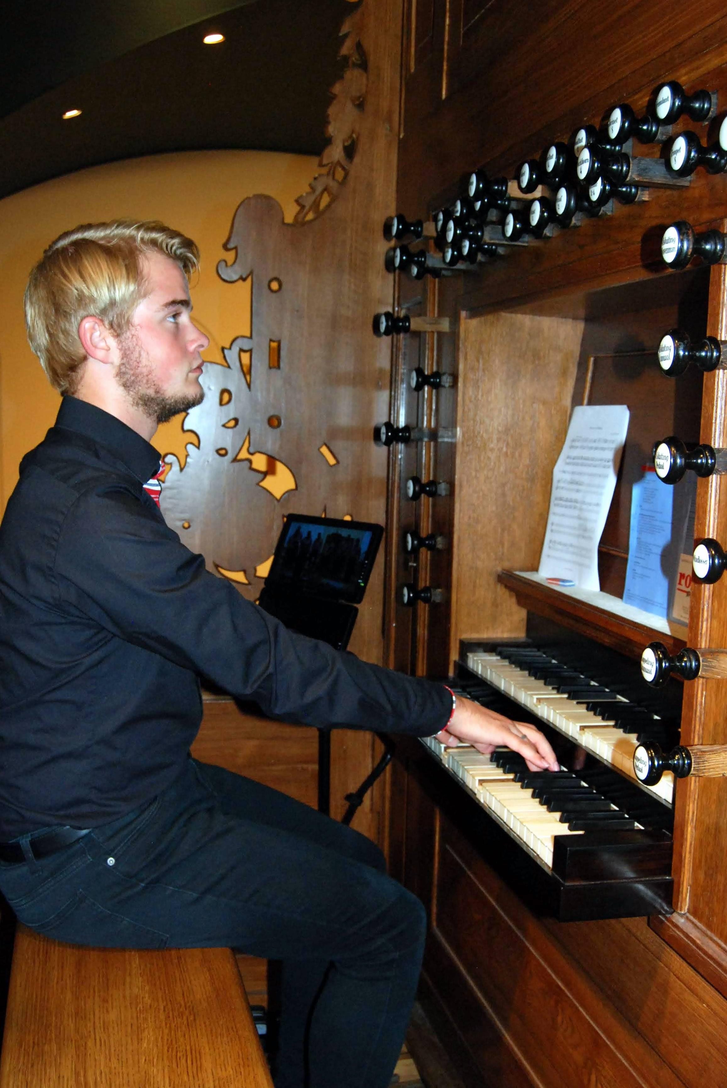 Mark Brandwijk, orgel Jozefkerk 2018